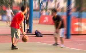Breathing during exercises in adolescents with cystic fibrosis