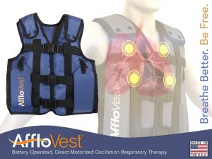 Data, Published by Company, Shows AffloVest Device Helps CF Patients with Airway Clearance