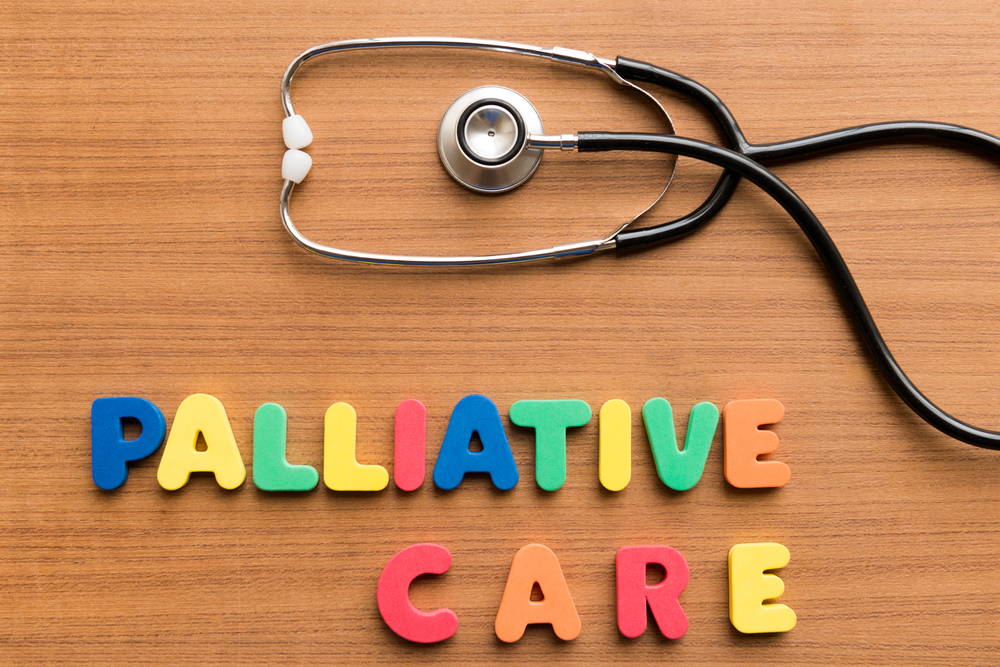 Many associate palliative care only with the end of life. Education of both healthcare staff and patients is needed to introduce the concept in CF care.