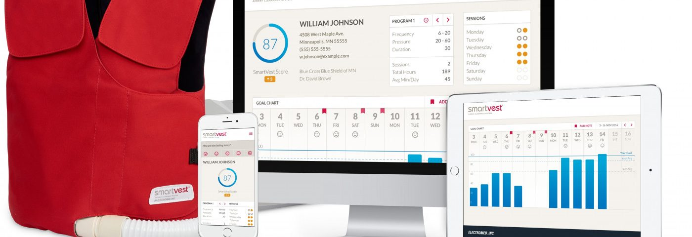 SmartVest Now Comes with Built-in Wireless Technology, Assisting Therapy Management