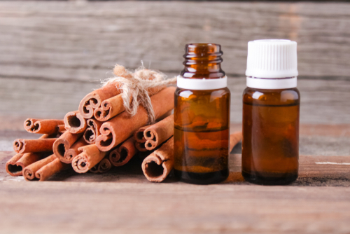 Cinnamaldehyde and cinnamon oil