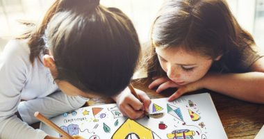 diabetes   Cystic Fibrosis News Today   Research   Two girls draw and color together