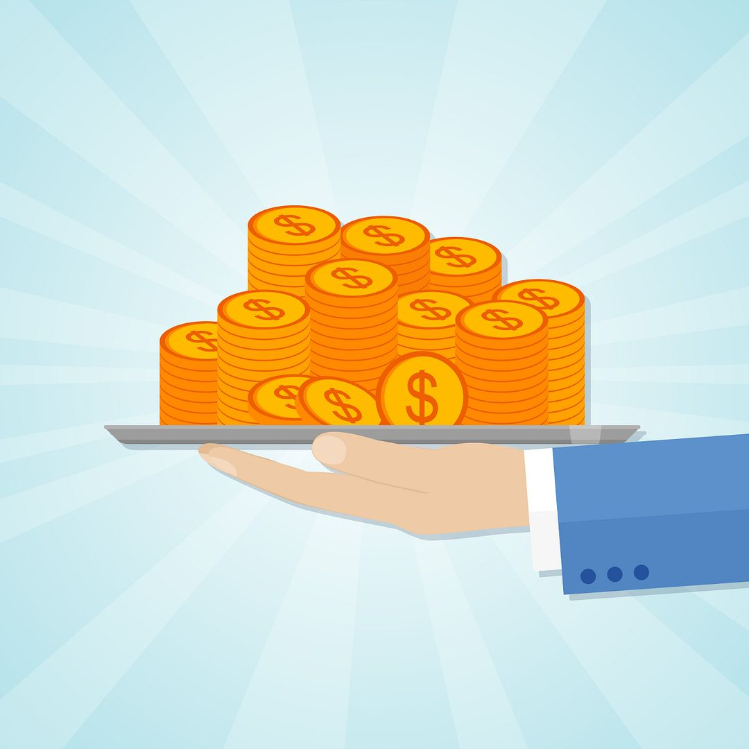 CF Foundation Impact Grants | Cystic Fibrosis News Today | drawing of money being offered