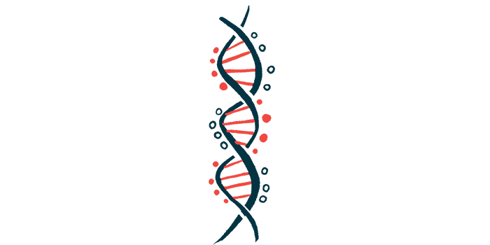 CFTR protein role in CF   Cystic Fibrosis News Today   image of DNA