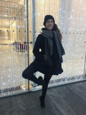 second opinion \ Cystic Fibrosis News Today \ Bailey poses outdoors in New York City in 2018, dressed in dark winter clothes, including a gray scarf and hat