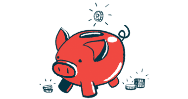 potential gene therapy | Cystic fibrosis News Today | NIH awards $2.1 million | illustration of piggybank